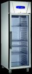Edelstahl Glastürtiefkühlschrank TKU720 G