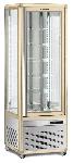 Panoramavitrine Snelle 351 R LED (bronze)