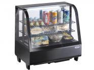 Tisch-Kühlvitrine Modell KATRIN schwarz