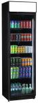 Glastürkühlschrank FLK 365 schwarz