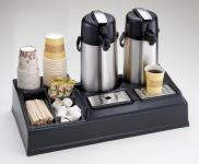 Kaffeestation doppelt (f. 2 Kannen), 660x345x155mm