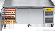 Bäckereikühltisch BKTF 3010 M (mit Arbeitsplatte)