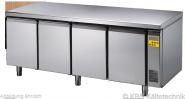 Bäckereikühltisch BKTF 4000 O (für Zentralkühlung)