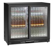 Barkühlschrank 176L 2 Schiebetüren