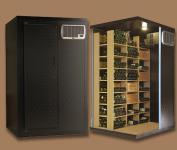 Cavispace 600 mit Glastür und LED Weinkühlzelle