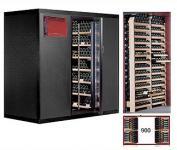 Cavispace 900 mit Glastür und LED Weinkühlzelle