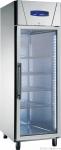 Edelstahl Glastürkühlschrank KU 714 G