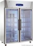 Edelstahl Glastürkühlschrank KU 1414 G