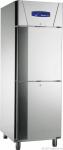Edelstahlkühlschrank KU 714 (2türig)