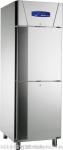 Edelstahlkühlschrank KU 714 (2türig mit Trennwand)