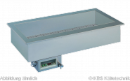 Armonia Einbaukühlwanne GN 6/1 still ohne Maschine