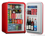 Volltürkühlschrank KBS 130 Retro Style
