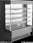 Edelstahlwandkühlregal Paros Pro E 132 mit Schiebetüren