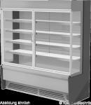 Edelstahlwandkühlregal Paros Pro E 132 mit Drehtüren