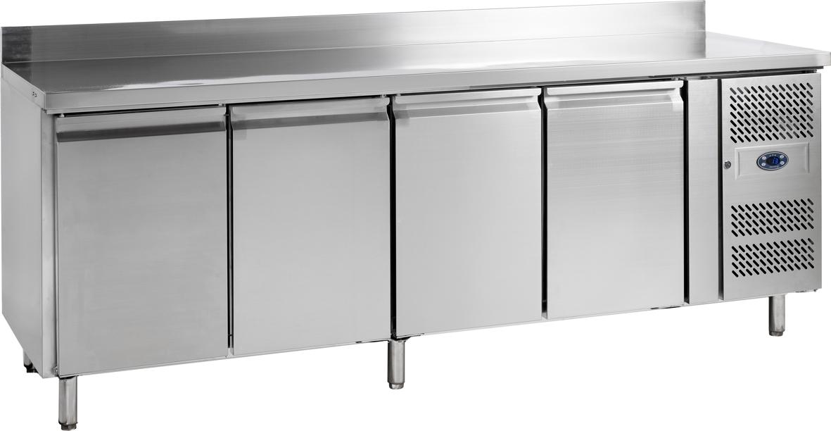 Tiefkühltisch aus Edelstahl - TKT-4 - Esta
