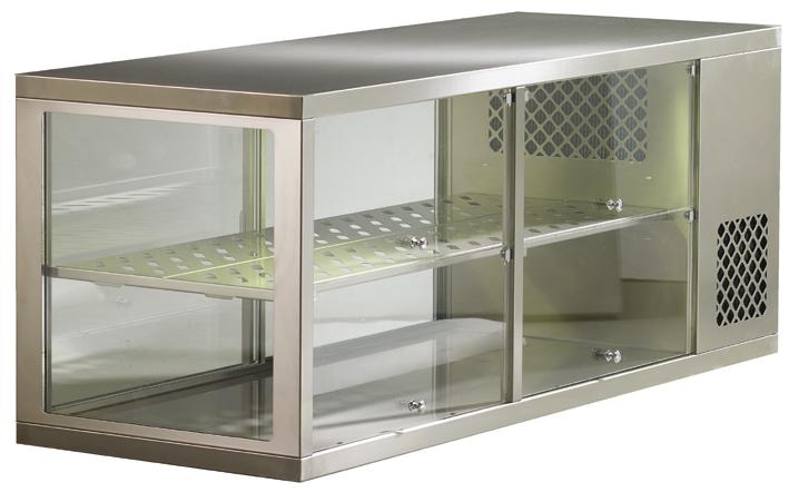 Aufsatzkühlvitrine AKV-S 96-KL
