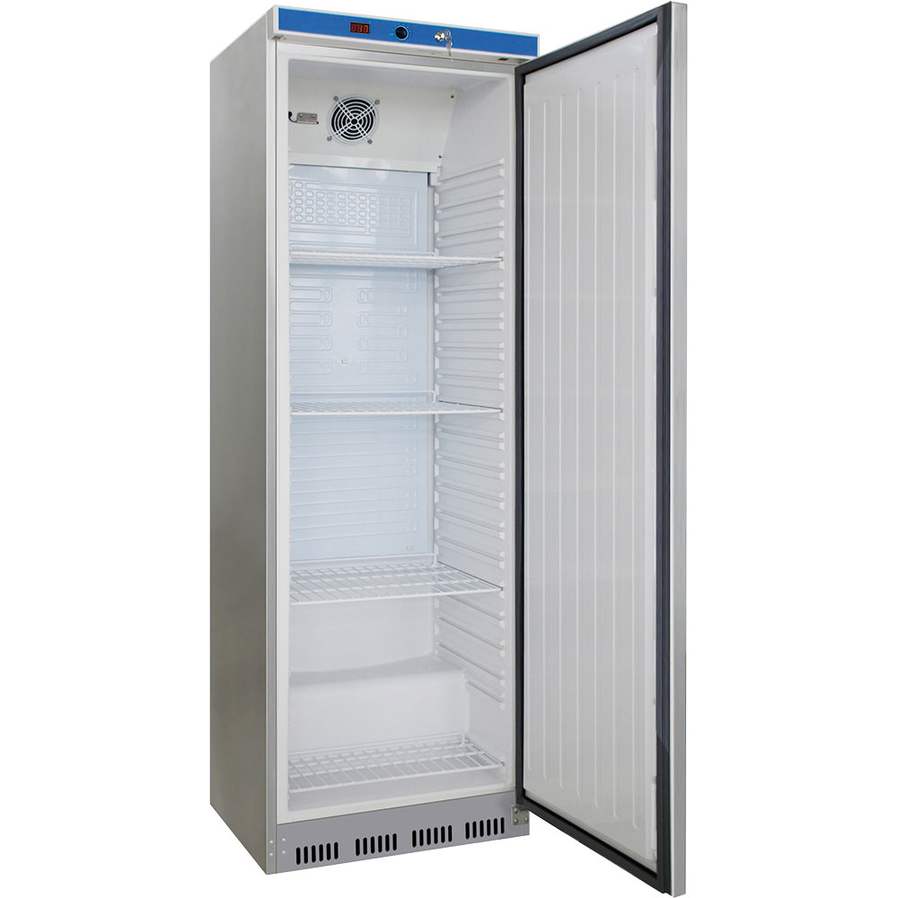 Kühlschrank INOX, 400 Liter, Abmessung 600 x 600 x 1850 mm (BxTxH)
