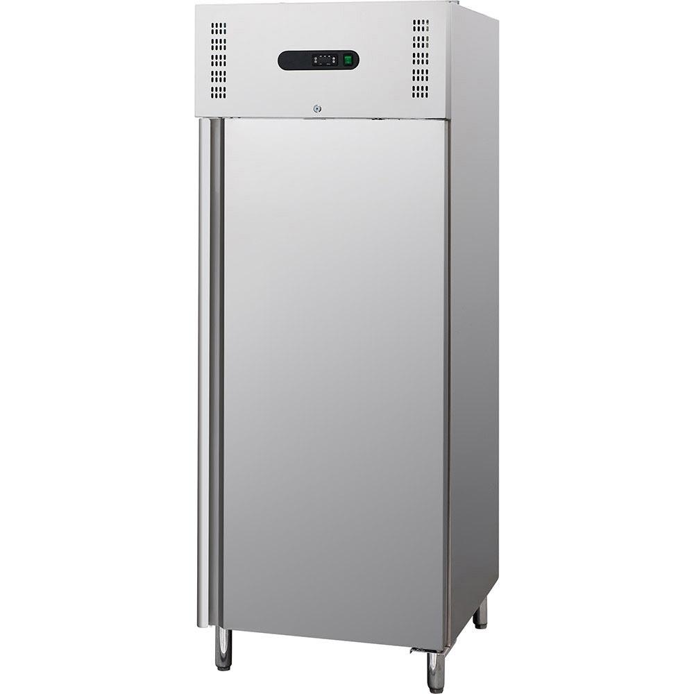 Tiefkühlschrank Edelstahl, 700 Liter, geeignet für GN 2/1, Abmessung 740 x 850 x 2100 mm (BxTxH)