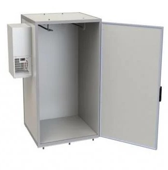 Kühlmaschine an der linken Seitenwand