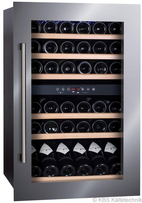 Vino 142 zwei Temperaturzonen Einbau-Weinkühlschrank