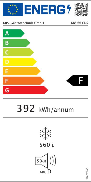 Tiefkühltruhe KBS 66 CNS