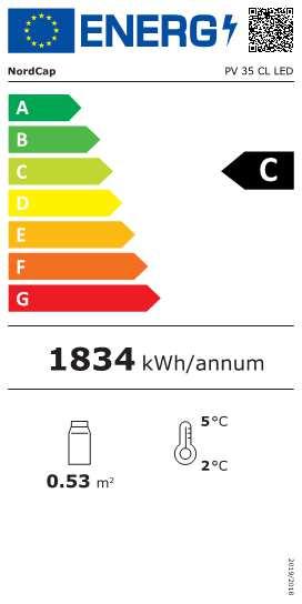 COOL-LINE-Panorama-Kühlvitrine PV 35 CL LED