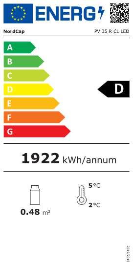 COOL-LINE-Panorama-Kühlvitrine PV 35 R CL