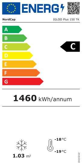 Tiefkühltruhe IGLOO Plus 150 TK