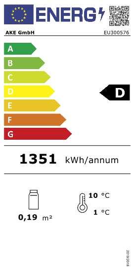 Aufsatzkühlvitrine AKV-S 96-KL LED