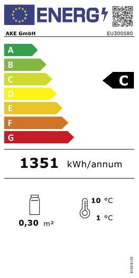 Aufsatzkühlvitrine AKV-U 65-KL LED