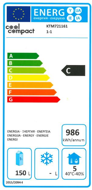 Cool Compact Kühltisch GN 1/1 2-Türen KTM 721161